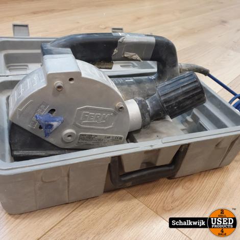 Ferm fws125/3k sleuvenfrees in koffer
