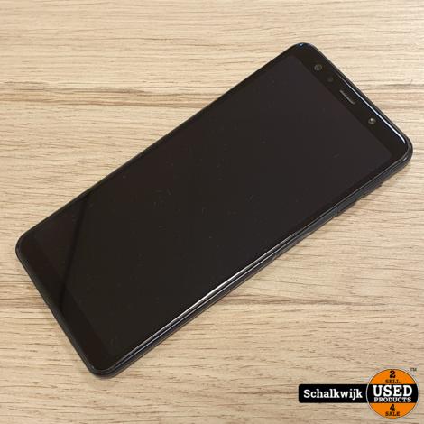 Samsung Galaxy A7 2018 64Gb Black Dual Sim in zeer nette staat