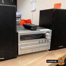 Panasonic sa-pm250 stereoset met Bluetooth - USB - Radio en CD