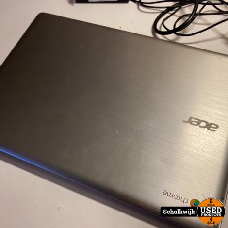 Acer chromebook r14  32 GB met lader