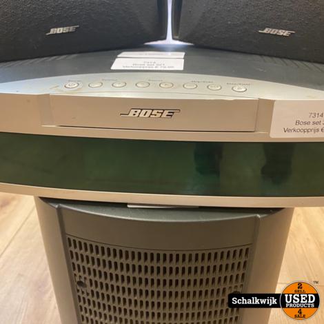 Bose set 321