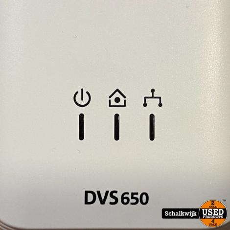 Devolo DVS 650 Ethernet Powerline - 3 stuks