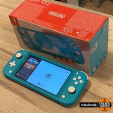 switch Nintendo Switch Lite in nette staat in doos met oplader