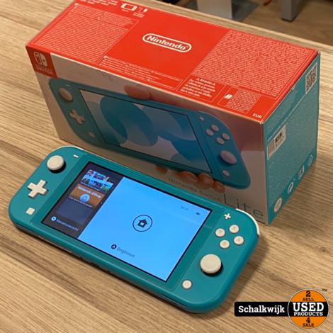 Nintendo Switch Lite in nette staat in doos met oplader