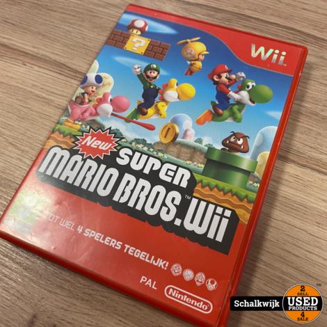 New Super Mario Bros Wii game