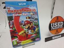 Paper Mario Color Splash - Wii U Game | elders €. 35,-