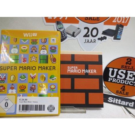 Super Mario Maker  + Boekje