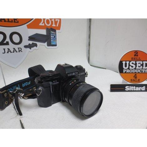 Minolta X300s Camera + Lens & Carena flitser