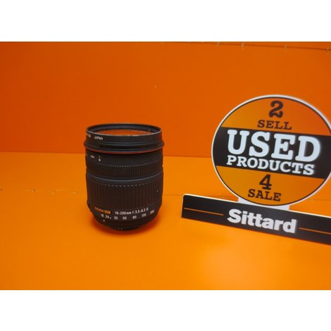 Sigma Lens 18-200mm 1:3:5 | Nikon, Elders Gezien voor 315,- Euro