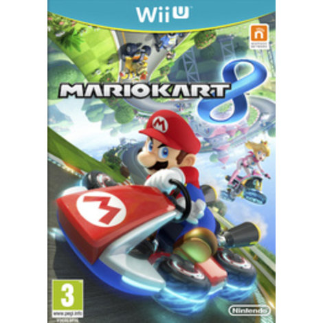 Nintendo Wii U game mario kart 8