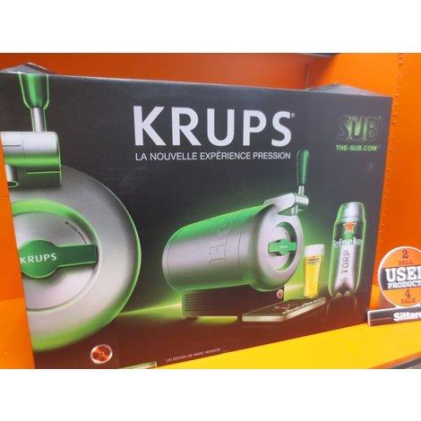 Krups the sub heiniken editie , nieuwprijs € 149,99