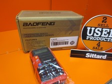 Baofeng UV-S9 krachtige Walkie Talkie 8 Watt, ca. 10 km bereik (Rood)