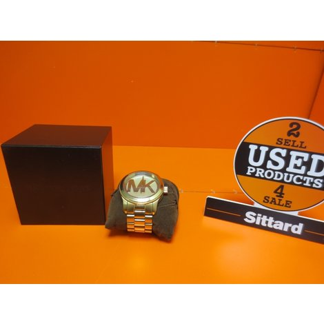 Michael Kors vrouwen horloge MK5473- Goud met doos - Actuele nieuwprijs €  199,-