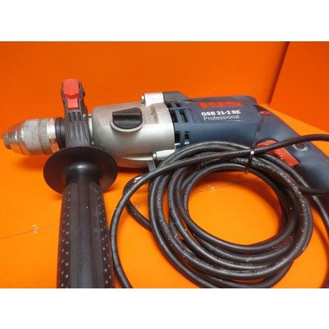 BOSCH Professional klopboormachine GSB 21-2 RE , nieuwprijs €179,-