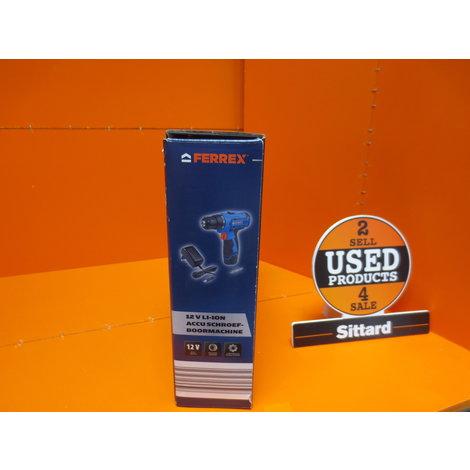 FERREX 12V Li-Ion accuboormachine | NIEUW | elders € 39,99