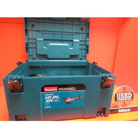 Makita haakse slijper 125MM Met koffer