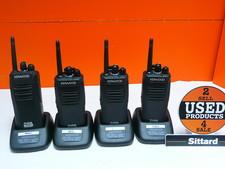 Kenwood 3401D Protalk Digitale portofoons set van 4 , nieuwprijs € 760,-