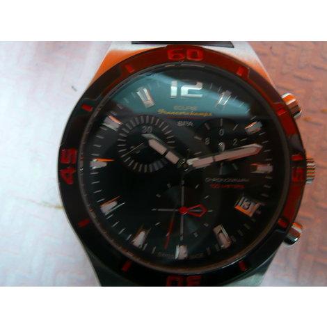 Francorchamps horloge RED Water 04 , in een nette staat , nwpr € 289,99