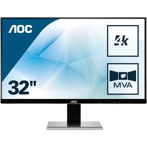 AOC 3277PWQU UHD Monitor , nieuwprijs €409,-