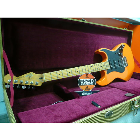 Fender Prodigy 1991 Electric guitar | orange | made in USA | met koffer