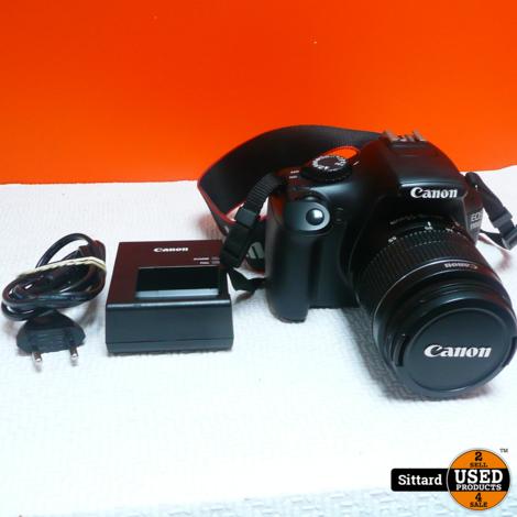 Canon Eos 1100D + 18-55mm Lens