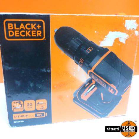 Black & decker bdcdc18b Accuboormachine , met doos