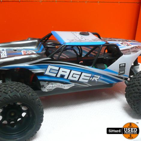 Cage RC Wagen , met 2 accu's en oplader