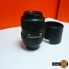 nikkor af-s 105mm f/2.8g vr micro , nieuwprijs € 849,-