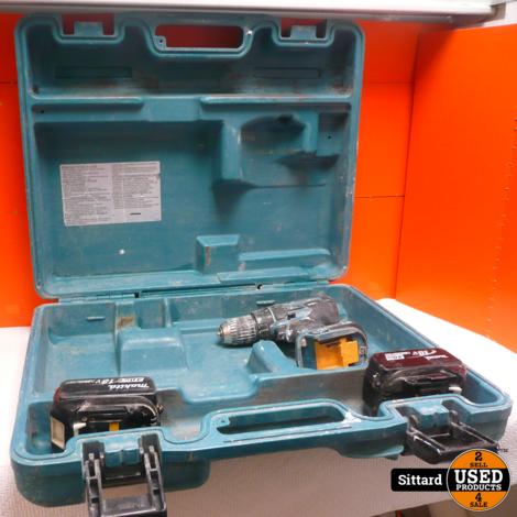 Makita DDF480 accuboormachine met koffer