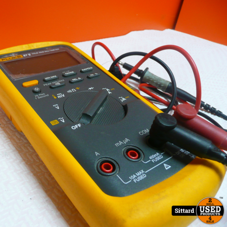 Fluke 87 True RMS Multimeter , nwpr. 500 euro