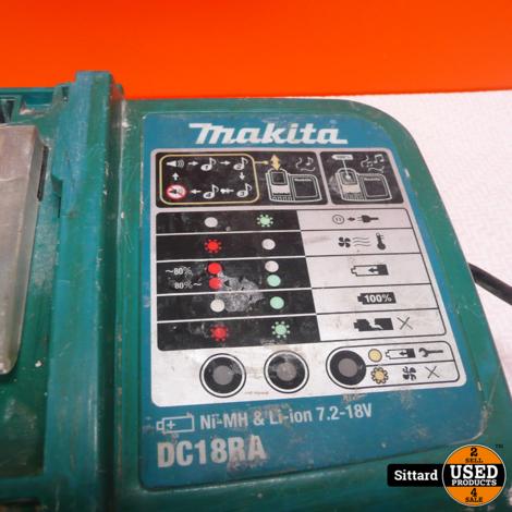Makita DC18RA , acculader , nwpr. 39.99 euro