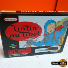 Kuifje in tibet - SNES Game , Elders voor 19.99 euro