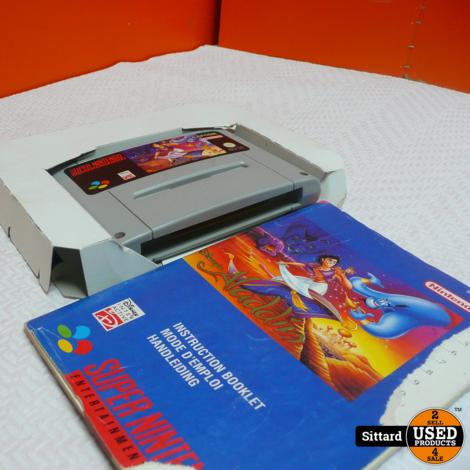 Aladdin SNES , Elders zelfde prijs zonder doos