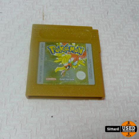 Pokémon Gold - Gameboy Game , Elders voor 29.99 euro