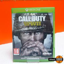 Xbox One Game - COD World War 2 , Elders voor 19.99 Euro
