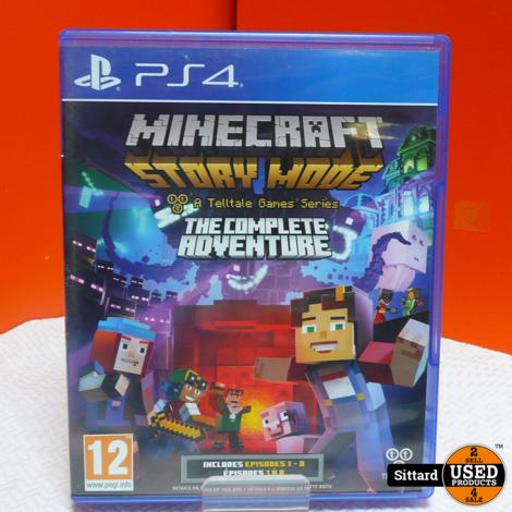 PS4 Game - Minecraft story mode , Elders voor 24.99 Euro