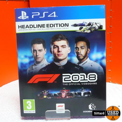 PS4 Game - F1 2018 , Elders voor 24.99 Euro