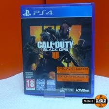 PS4 Game - COD Black ops 4 , Elders voor 24.99 Euro