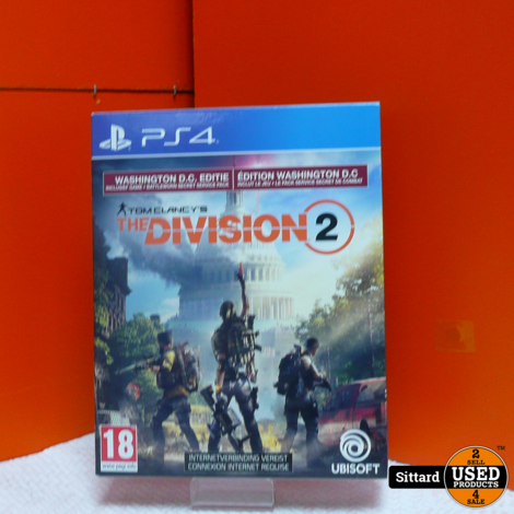 PS4 Game - The Division 2 , Elders voor 14.99 Euro