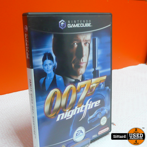 Gamecube Game - 007 Nightfire , Elders voor 9.99 Euro