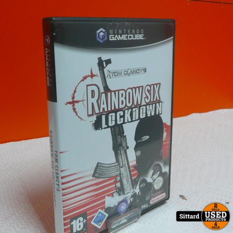 Gamecube Game - Rainbow Six Lockdown , Elders voor 6.99 Euro