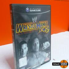 Gamecube Game - Wrestlemania X8 , Elders voor 4.99 Euro