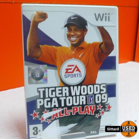 Wii Game -  Tiger Woods PGA Tour 09 , Elders voor 6.99 Euro