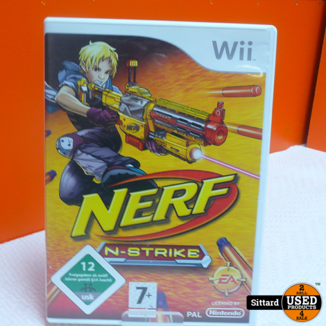 Wii Game - Nerf N-Strike , Elders voor 9.99 Euro