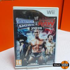 Wii Game - Smack Down VS RAW 2011 , Elders voor 9.99 Euro