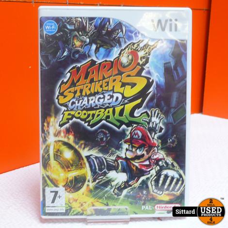 Wii Game - Mario Strikers , Elders voor 19.99 Euro