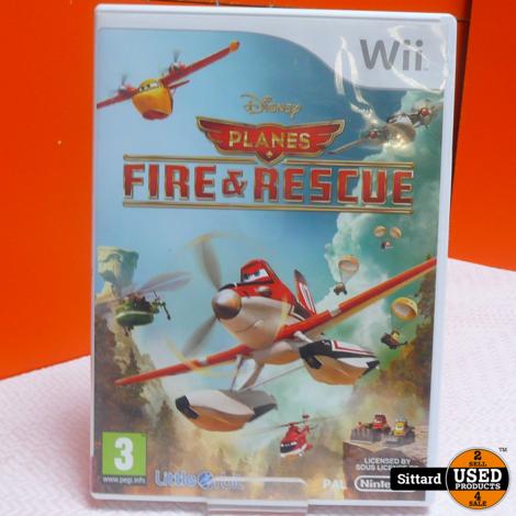 Wii Game - Planes Fire & Rescue , Elders voor 14.99 Euro