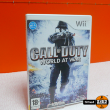 Wii Game - COD World at War , Elders voor 14.99 Euro
