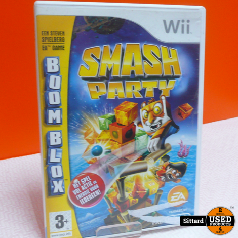 Wii Game - Smash party , Elders voor 14.99 Euro