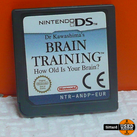 DS Game Brain training , Elders voor 4.99 Euro